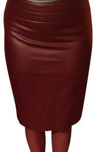 The Limited Skirt Dark red