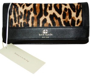 Kate Spade Haricalf Evening Perri Lane Leopard Clutch