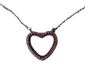 Other Silver plated heart pendant necklace