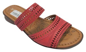 Naturalizer Leather Size 9.50 M Brand New Excellent Condition Coral, Sandals