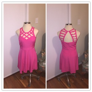 Guess short dress Raspberry Bright Mini Party on Tradesy