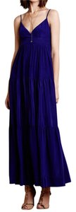 Maxi Dress by Anthropologie Silk Maxi Bohemian Boho Empire Waist