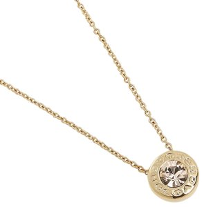 Coach Coach Open Circle Stone Strand Necklace