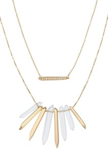 Stella & Dot Rebel Cluster Necklace
