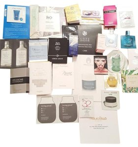 A mix of beauty samples All High End Brands