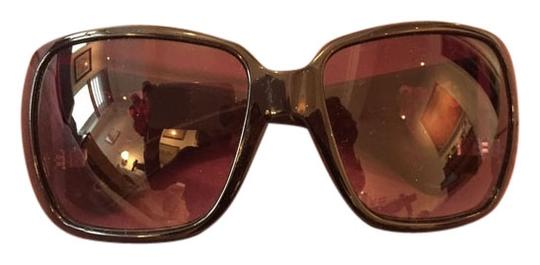 Gucci Gucci Large Black Sunglasses with Large Gold Hearts