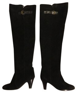 Vita Dolce Black Suede Boots