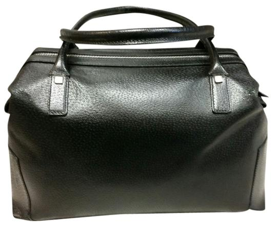 Preload https://item1.tradesy.com/images/salvatore-ferragamo-boston-black-leather-satchel-1976285-0-0.jpg?width=440&height=440