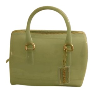 Furla Satchel in baby green