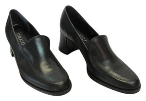 Calico Size 8.50 Narrow Leather Very Good Condition Black Pumps