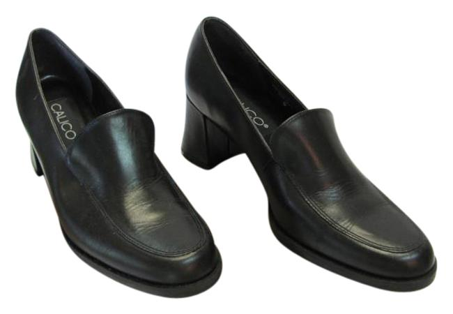 Item - Black Leather Very Good Condition Pumps Size US 8.5 Narrow (Aa, N)
