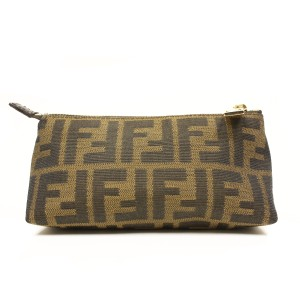 Fendi FENDI Signature Zucca Print Small Cosmetic Case 7N0073