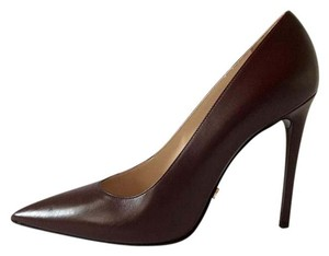 Prada Garnet Pumps