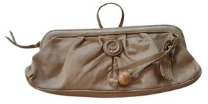 Fossil Tan Clutch