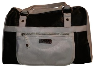 Kenneth Cole Reaction Satchel in Black, White