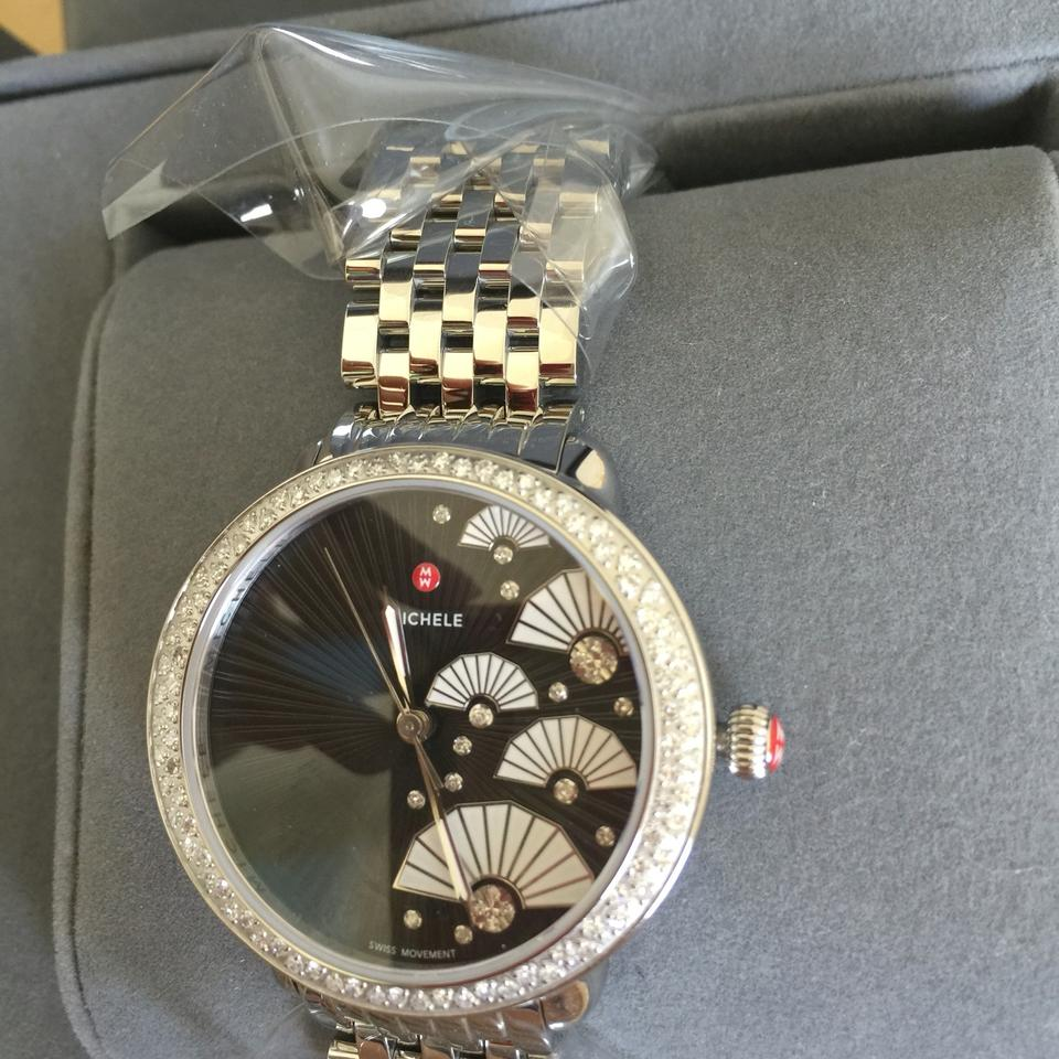 day michele diamond deco watch watches ladies