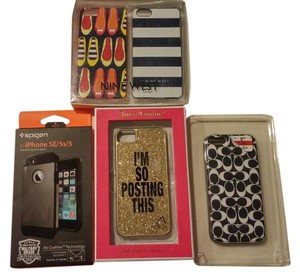Juicy Couture 5 lot of NEW Iphone 5 Case JUICY COUTURE, Coach, Nine West, etc