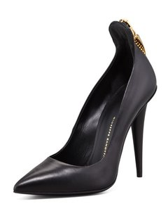 Giuseppe Zanotti Leather black Pumps