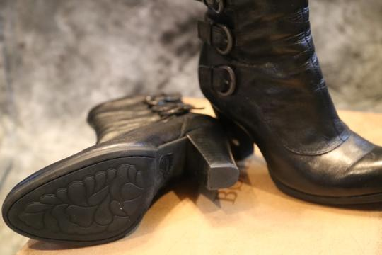Børn Black Leather Boots