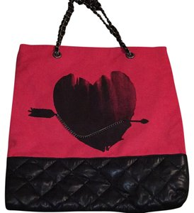 Vera Wang Tote in Red, Black