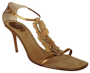 Ren Caovilla Bronze Sandals