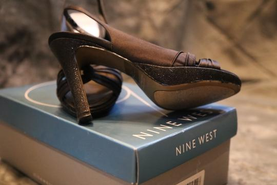 Nine West Black Satin Formal