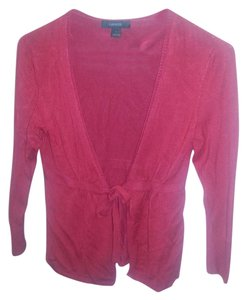 Express Light Spring Fall Sweater Tie Open Cardigan