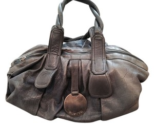 Gustto Tote in Blue/gray