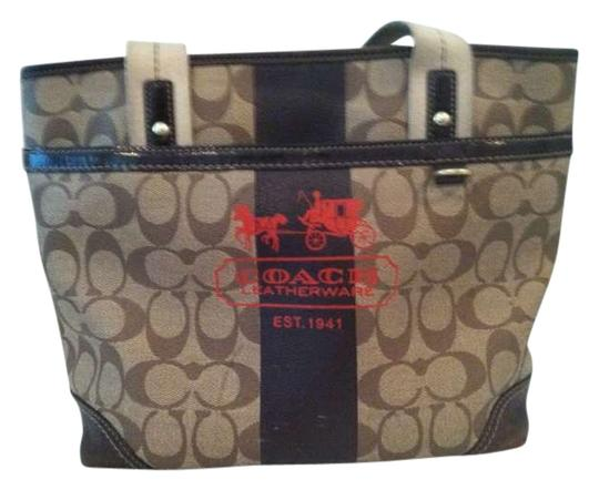 Coach Brown Tote