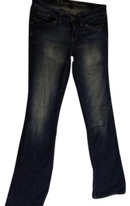 Gap Stretchy Distressed Boot Cut Jeans-Distressed