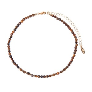 Ettika Tiger's Eye Choker Necklace