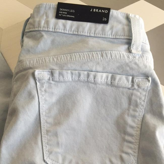 J Brand Light Denim Skinny Size 26 Jeggings-Light Wash