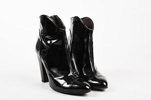 Burberry Patent Leather Black Boots