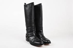 Chlo Chloe Leather Tall Black Boots