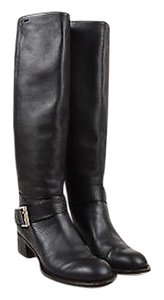 Chloé Chloe Leather Round Toe Brown Boots