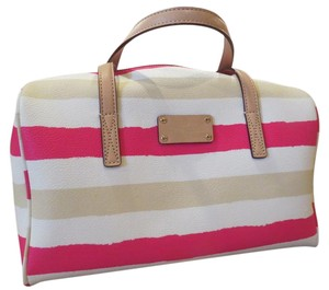 Kate Spade Satchel in Pink/Cream/White