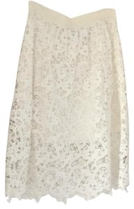 Ann Taylor Skirt White / cream