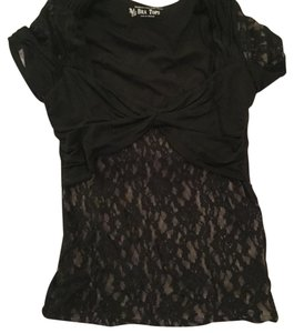 Victoria's Secret Top Black & nude