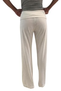 ADAM Lippes Solid Straight Pants white