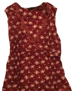 New York & Company Top Dark red