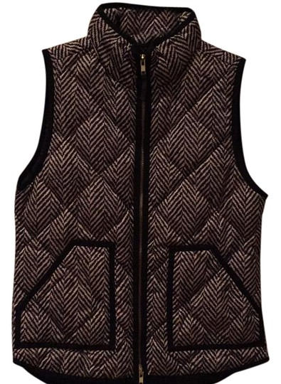 J.Crew Herringbone Excursion Vest 70%OFF