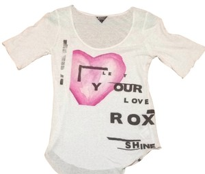 Roxy T Shirt White