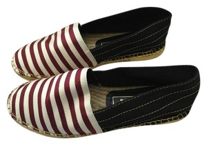 Marc Jacobs Bordeaux/white Flats