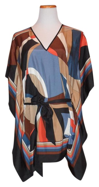 Item - Multi-color Fab Silk Mint Condition Tunic Size 8 (M)