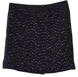 The Limited Mini Skirt Black, white