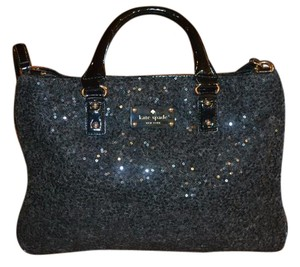 Kate Spade Sequin Tote in Charcoal