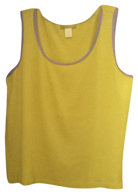 Preload https://item5.tradesy.com/images/sigrid-olsen-chartreuse-and-lavender-tank-topcami-size-22-plus-2x-1976654-0-0.jpg?width=400&height=650