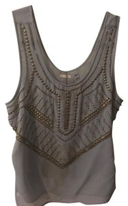 Ecote Studded Top Grey
