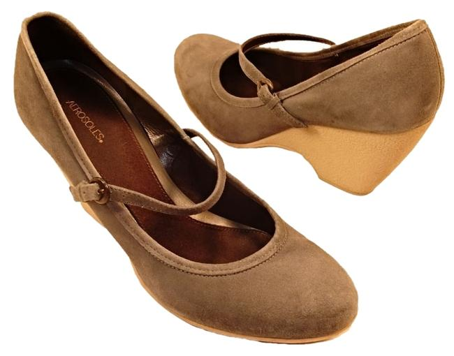 """Item - Gray Euc Vice Cube Mary Jane Women's Suede Comfy 3"""" High Heel Wedges Size US 10 Regular (M, B)"""