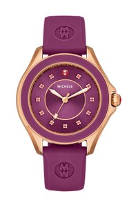 Michele Michele MWW27A000002 Cape Rose Gold Changeable Silicon Band Watch